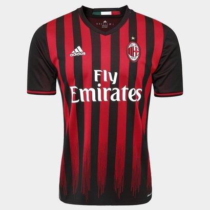 A Camisa Milan Home 16 17 s nº - Torcedor Adidas Masculina vai ganhar 1c82c4585f0bb