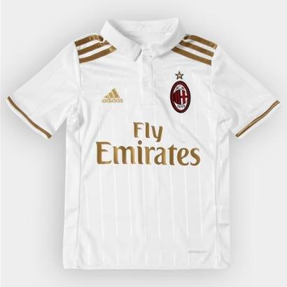b1e8a736dcab0 Camisa Milan Infantil Away 16 17 s nº - Torcedor Adidas - Compre Agora