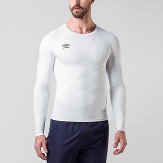 Camisa Ml Masculina Termica Twr Graphic Pro Umbro