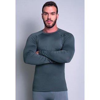 Camisa Mvb Modas Térmica Segunda Pele Proteção Uv 50+
