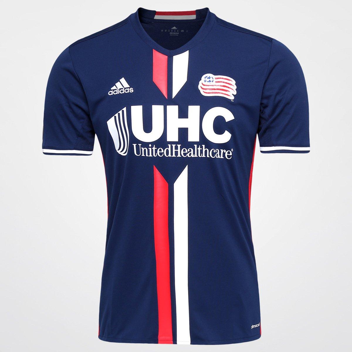 4d5793cb4e Camisa New England Revolution MLS Home 2016 s nº Torcedor Adidas Masculina