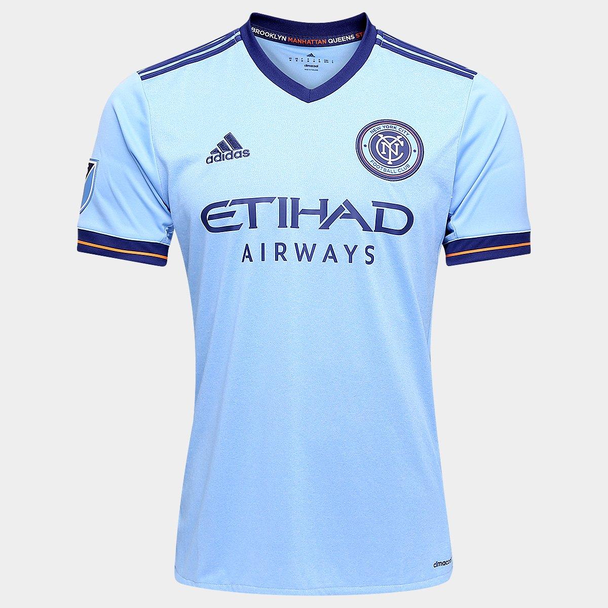 d3913ef14d Camisa New York City MLS Home 17 18 s nº Torcedor Adidas Masculina - Compre  Agora