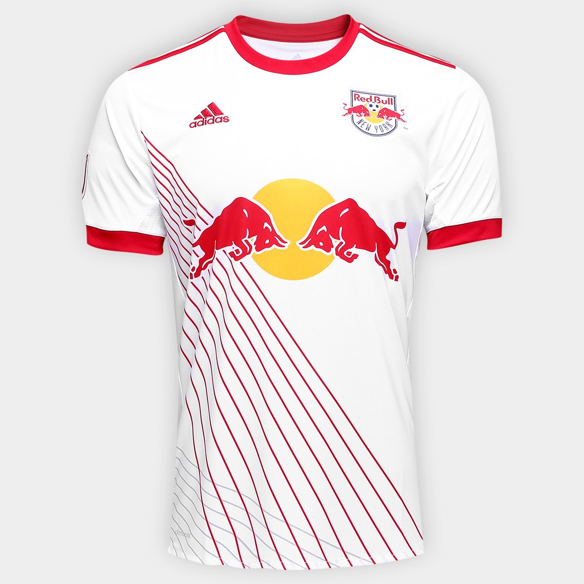 Tregua Bangladesh proposición  Camisa New York Red Bull Home 17/18 s/nº Torcedor Adidas Masculina    Netshoes