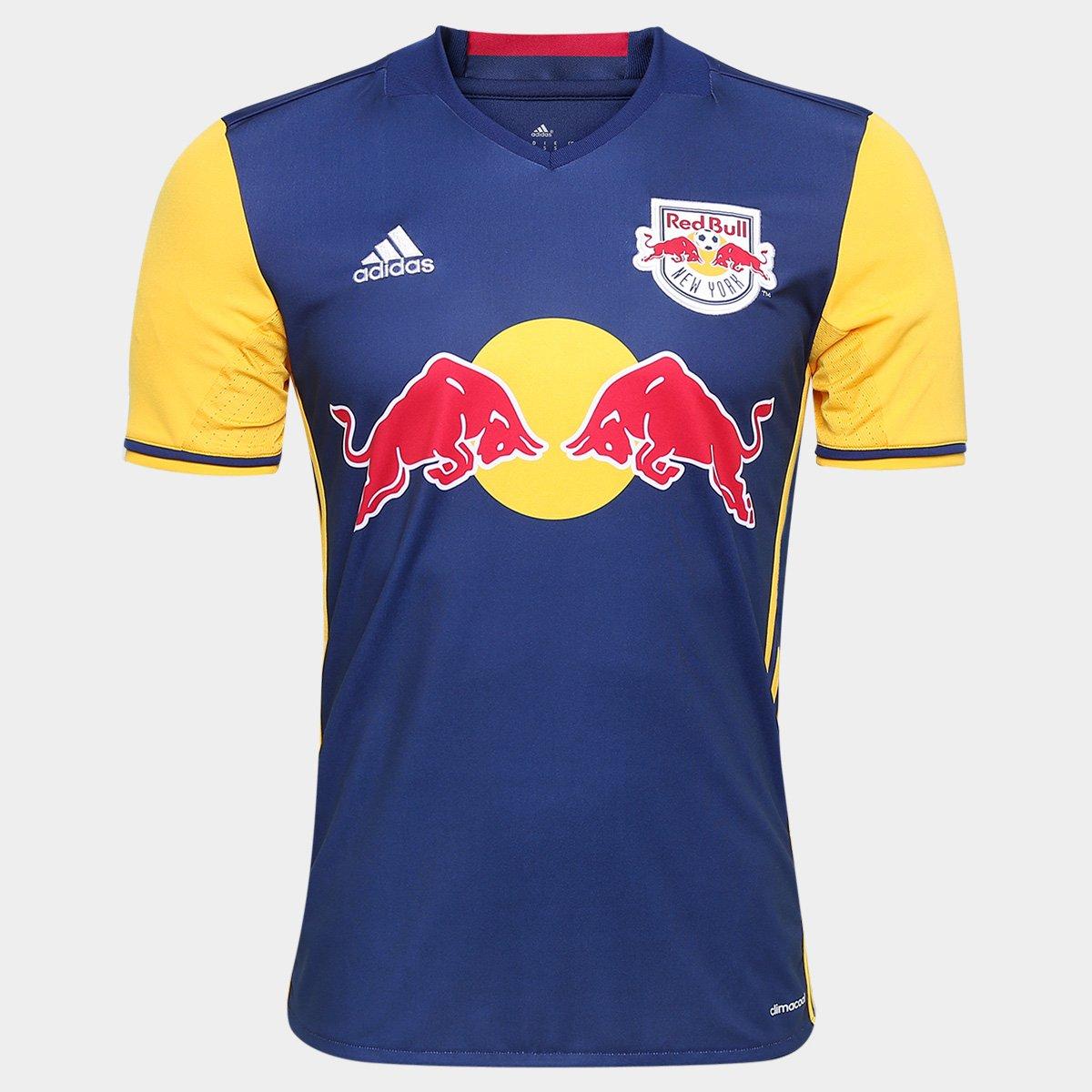 76b12a6431 Camisa New York Red Bulls Away 2016 MLS s nº Torcedor Adidas Masculina -  Compre Agora