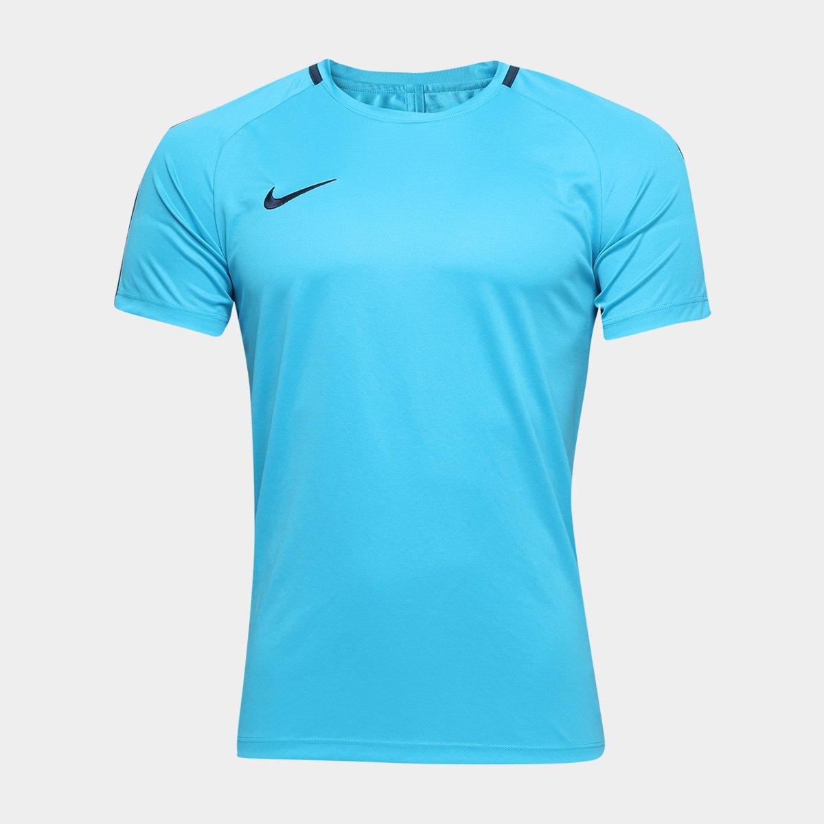 fc4f036b3f Camisa Nike Academy Masculina - Azul - Compre Agora