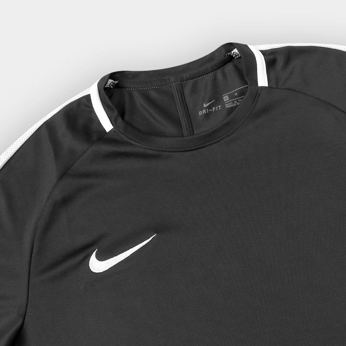 7781ce517b 69d8f2885a9b58  Camisa Nike Academy Masculina - Preto e Branco - Compre  Agora Netshoes 8934d03515a92e ...