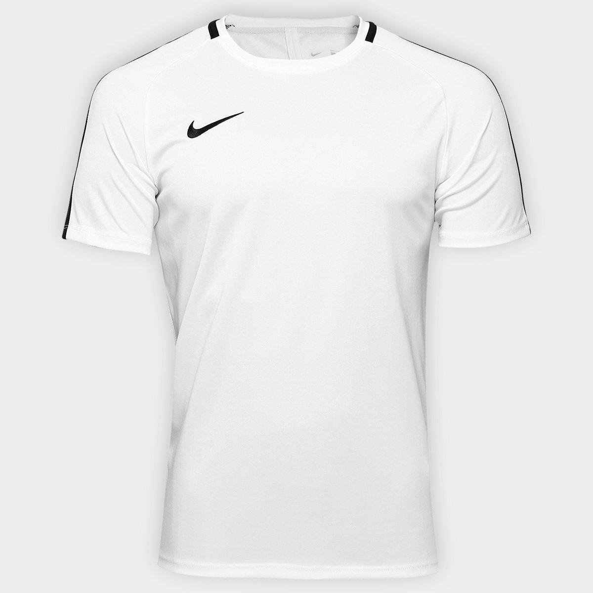 425d2d079c Camisa Nike Academy Masculina - Branco e Preto - Compre Agora