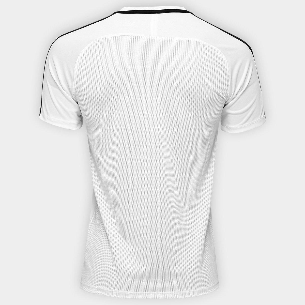 b15ef34b22 Camisa Nike Academy Masculina - Branco e Preto - Compre Agora