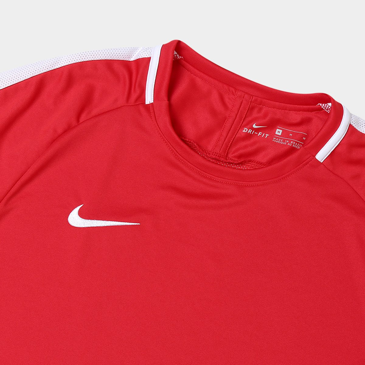 Camisa Nike Academy Masculina - Vermelho e Branco - Compre Agora ... f28785a11a54c