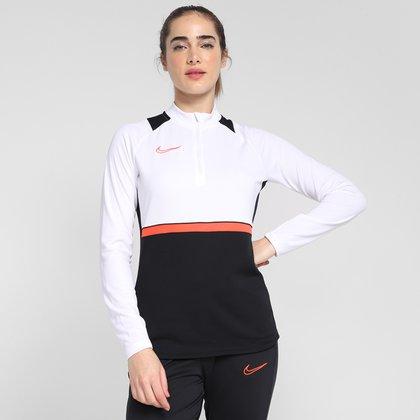 Camisa Nike Academy Top Dri-Fit Manga Longa Feminina