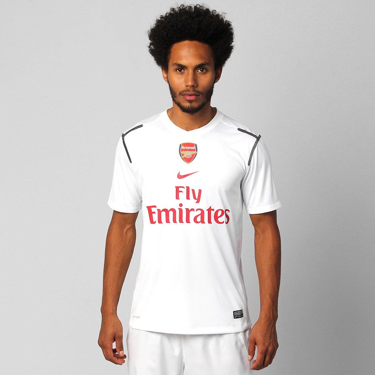 411452737d Camisa Nike Arsenal Pre Match 12 13 - Compre Agora