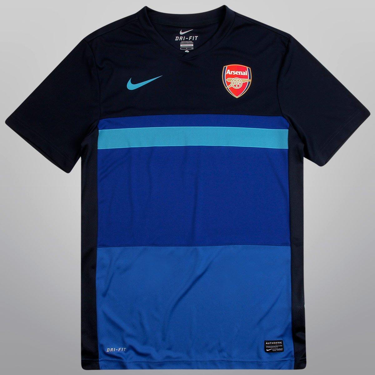 Camisa Nike Arsenal Pre Match 12 13 - Compre Agora  46915f20e7196