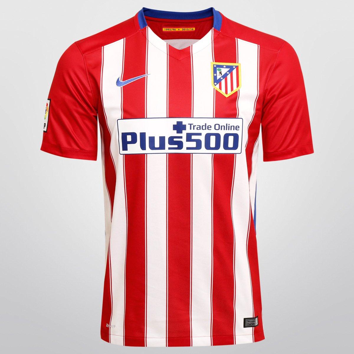 118a8c36ef Camisa Nike Atlético de Madrid Home 15 16 s nº - Compre Agora