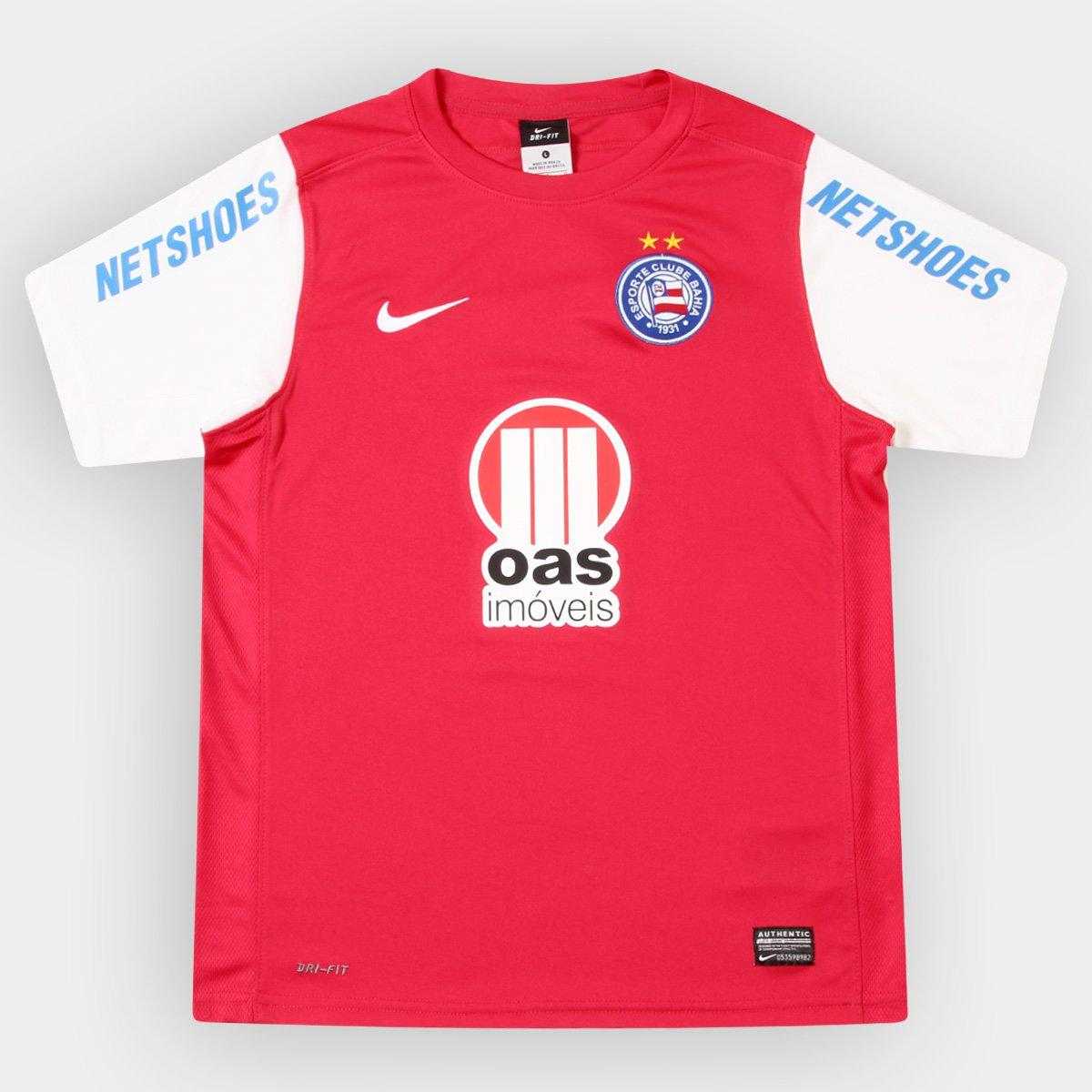 Camisa Nike Bahia III 12 13 s nº Infantil - Compre Agora  550d5d1c52b78