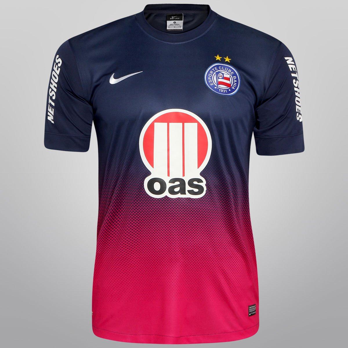 Camisa Nike Bahia III 13 14 s nº - c  Patrocínio - Compre Agora ... 594ffe887cffc