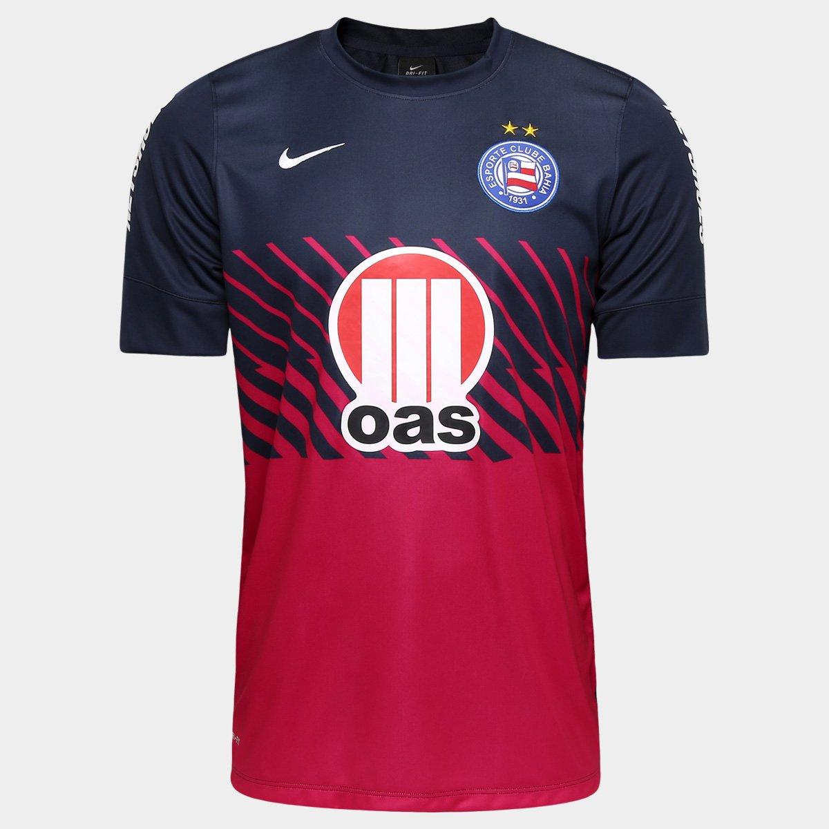 3e604170b9 Camisa Nike Bahia Pre Match 13 14 - Compre Agora