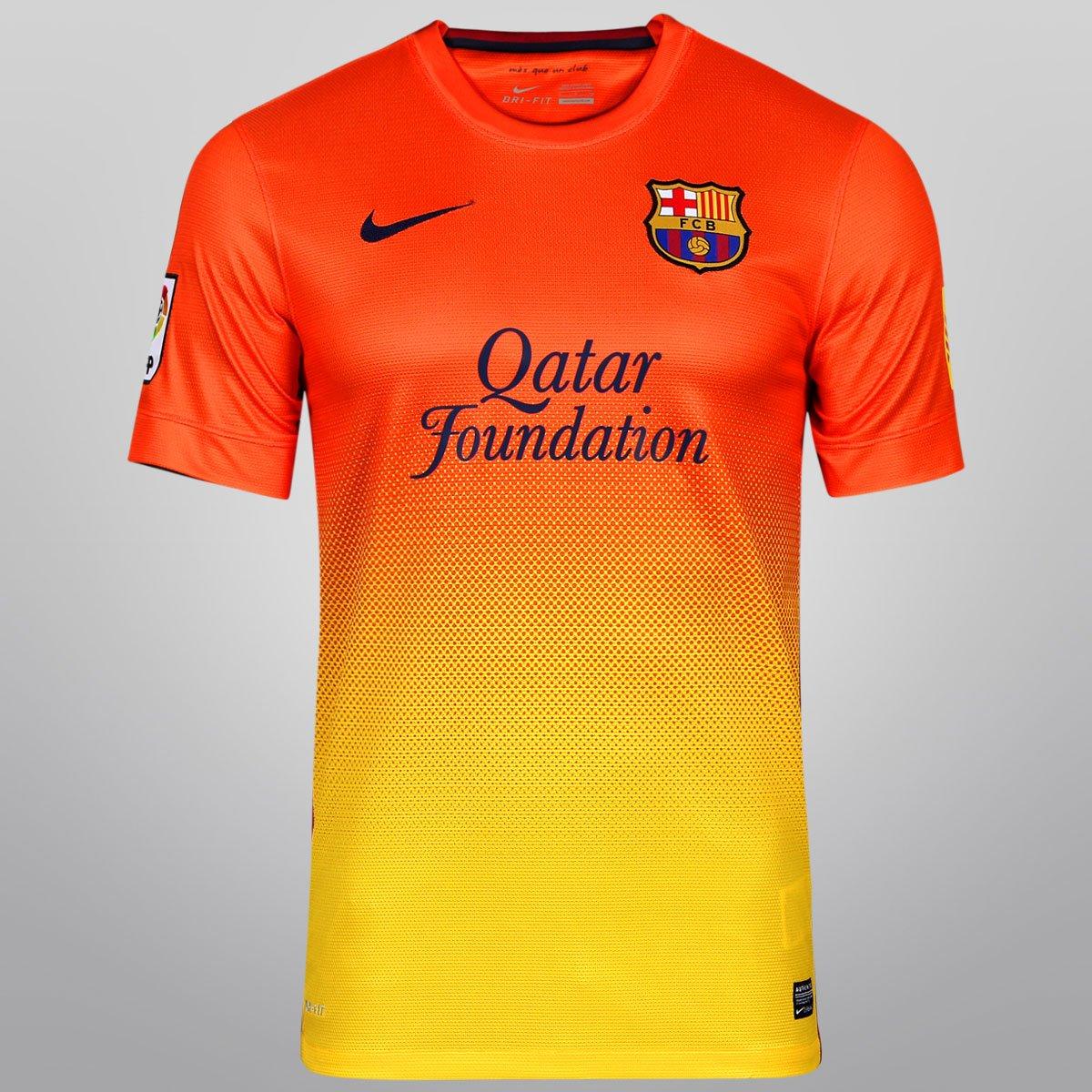 4b2848d162ed1 Camisa Nike Barcelona Away 12 13 s nº - Compre Agora