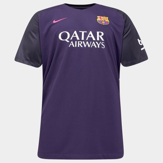 Camisa Nike Barcelona Away 16 17 S Nº Netshoes