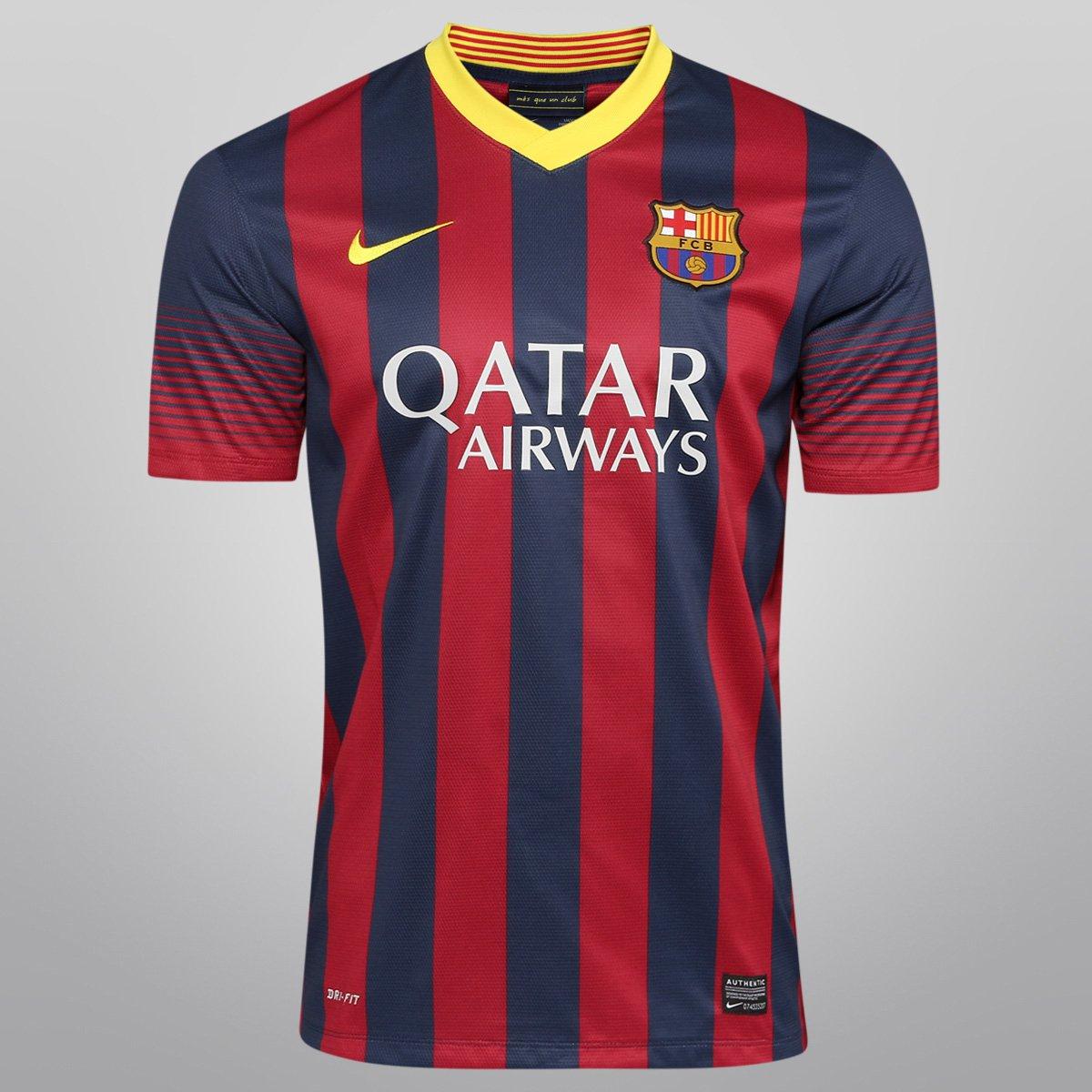 0fe0c262b7 Camisa Nike Barcelona Home 13 14 s nº - Compre Agora