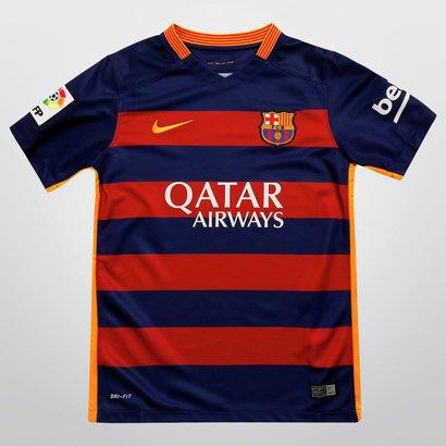 6b3009e7fe Camisa Nike Barcelona Home 15/16 s/nº Juvenil   Netshoes