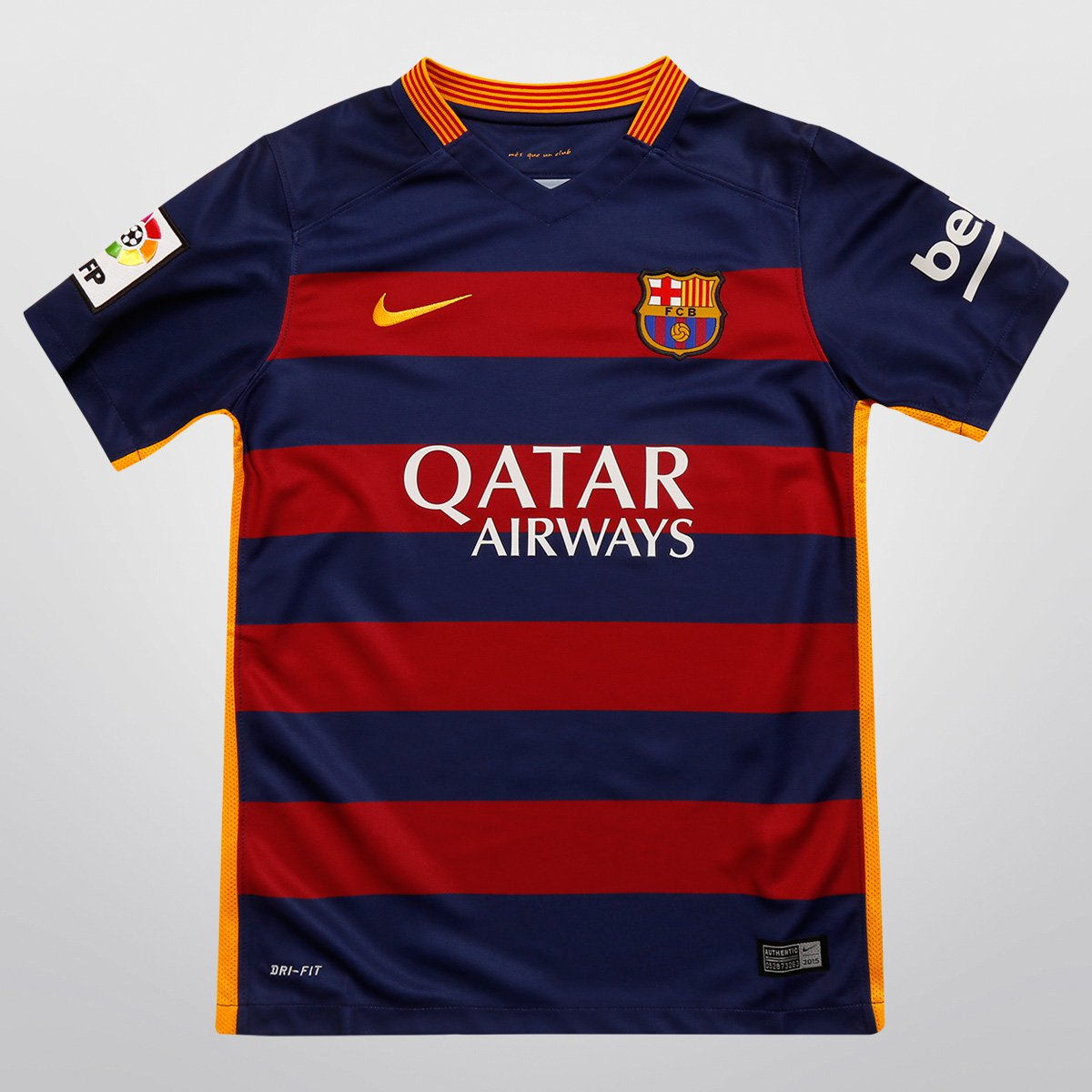 aad9fda8a8 Camisa Nike Barcelona Home 15 16 s nº Juvenil - Compre Agora