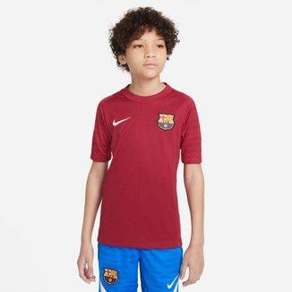 Camisa Nike Barcelona Strike Infantil