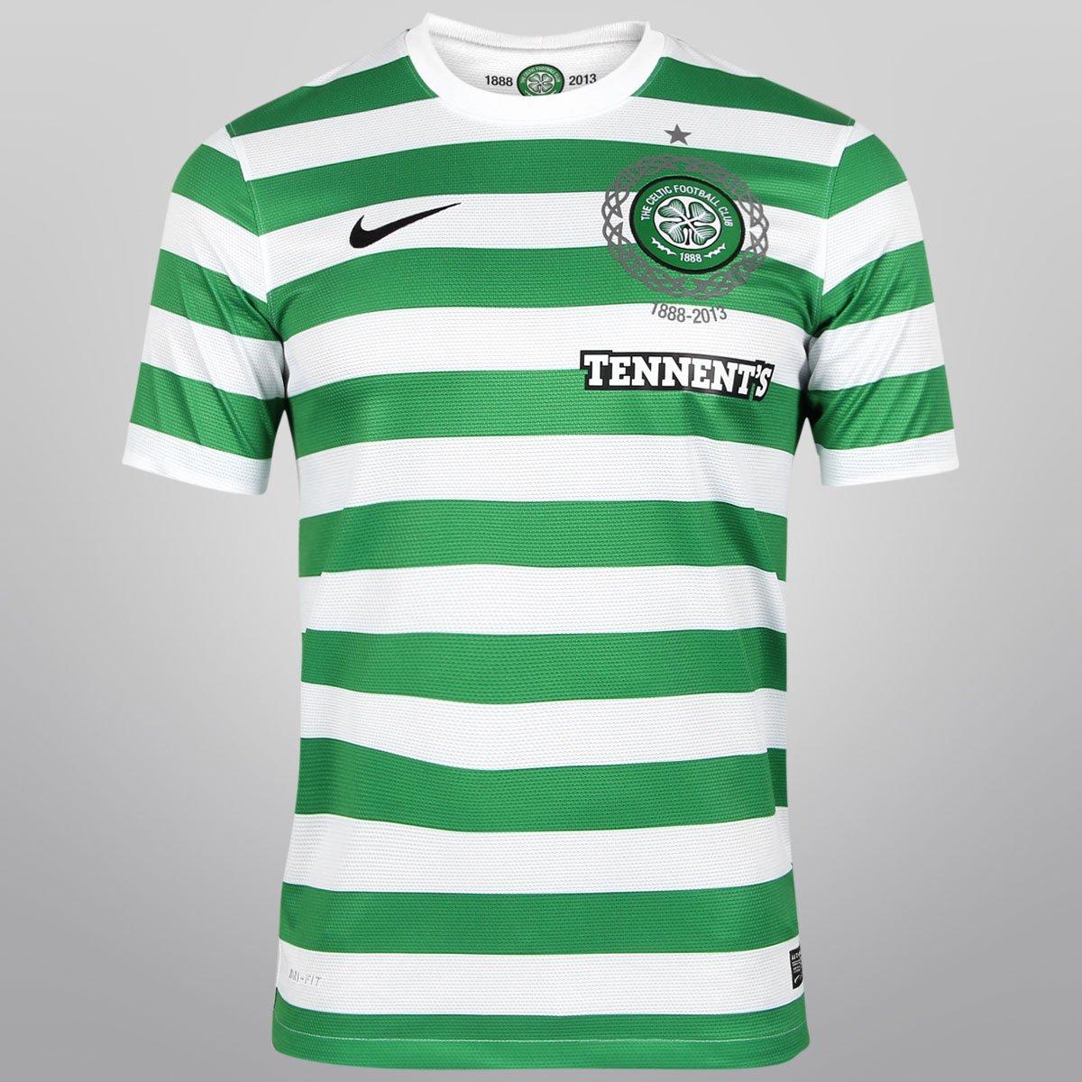 Camisa Nike Celtic Home 12 13 s nº - Compre Agora  959cca5c353a5