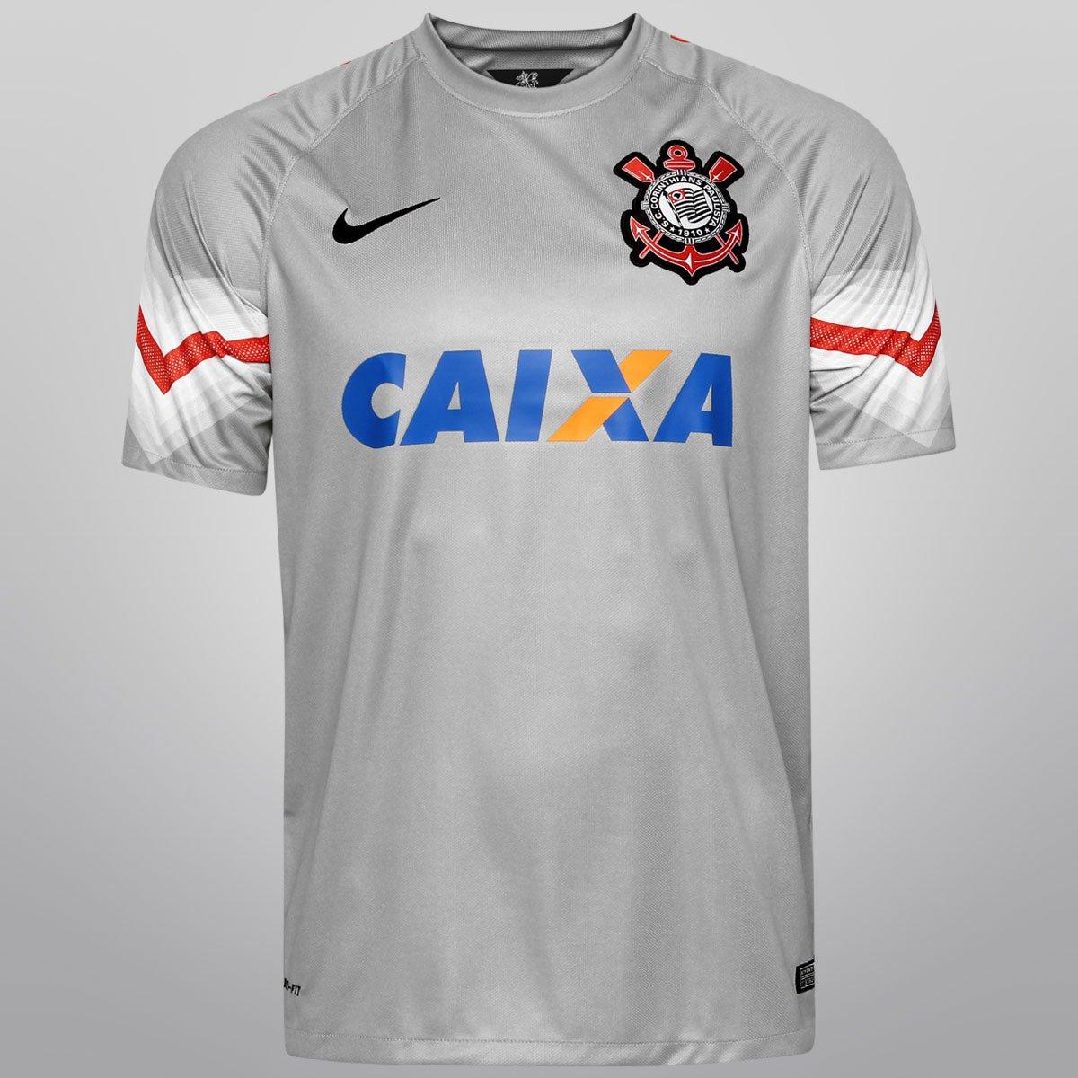 e77fb06c8da2b Camisa Nike Corinthians Goleiro 14 15 s nº - Compre Agora