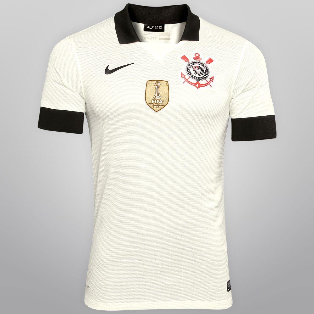 Camisa Nike Corinthians I 13 14 s nº - Ed. Bicampeão Mundial - Compre Agora   188832335c089