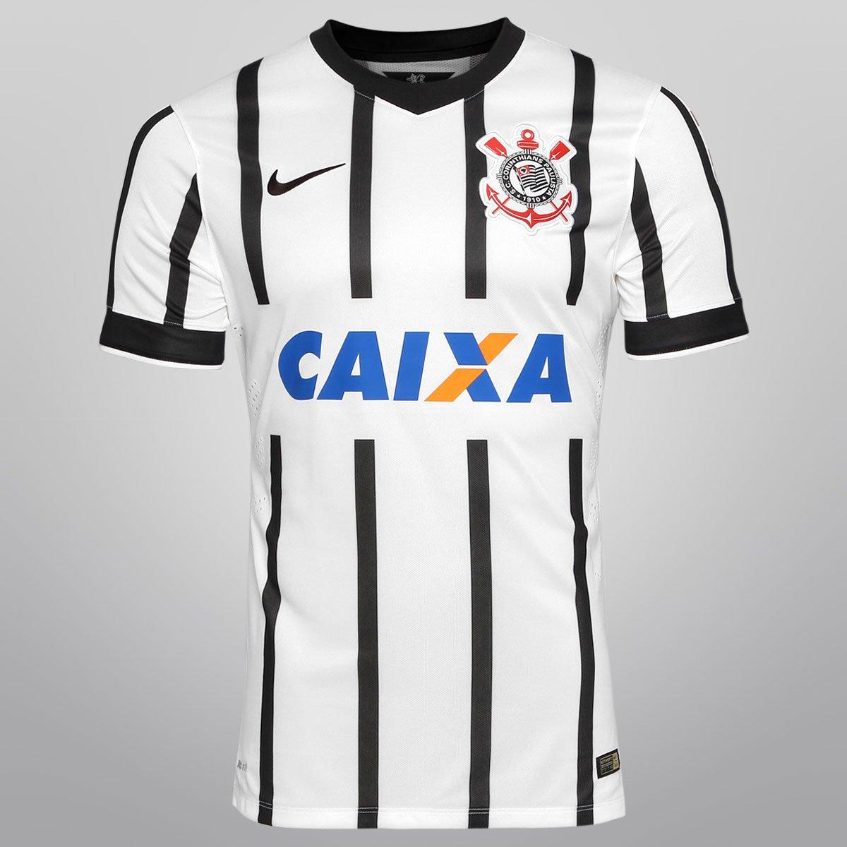 5cef90de54 Camisa Nike Corinthians I 14 15 s nº - Jogador - Compre Agora