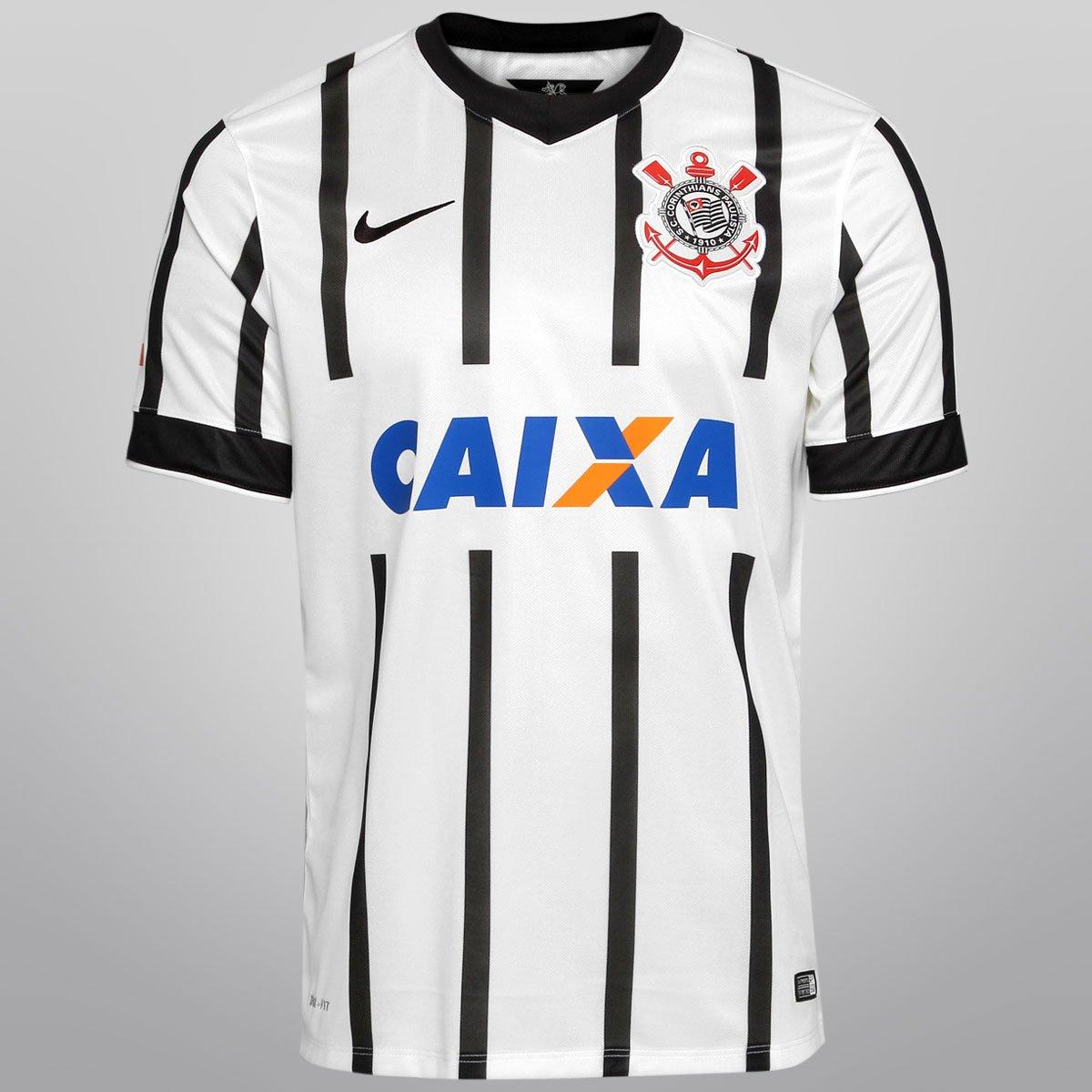 Camisa Nike Corinthians I 14 15 s nº - Torcedor - Compre Agora ... 408e6ed39da