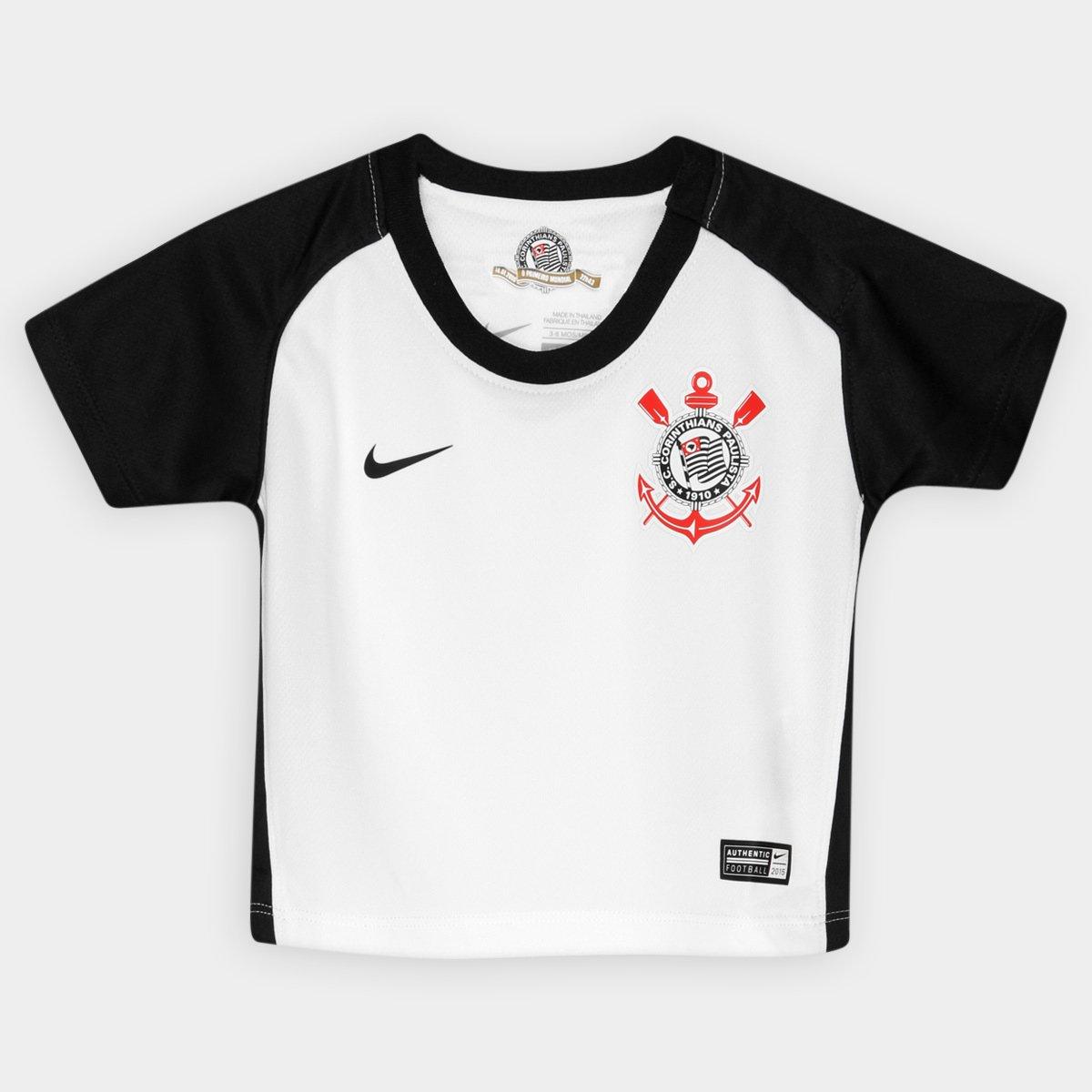 Camisa Nike Corinthians I 15 16 s nº Baby - Compre Agora  42991cbac2fe7
