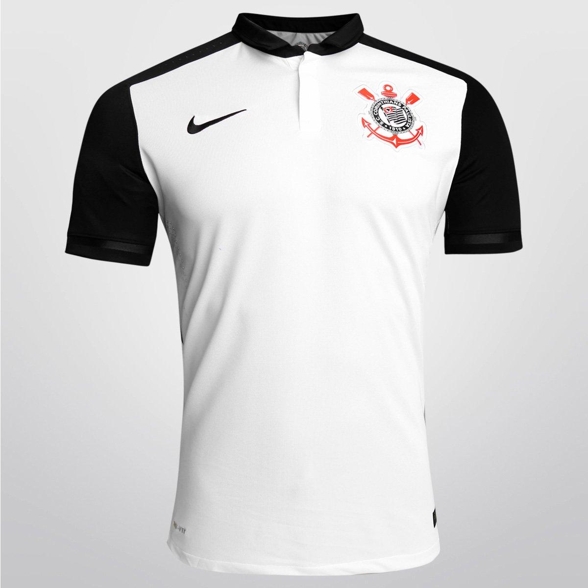 Camisa Nike Corinthians I 15 16 s nº - Jogador - Compre Agora  7a8a212d9d0ca
