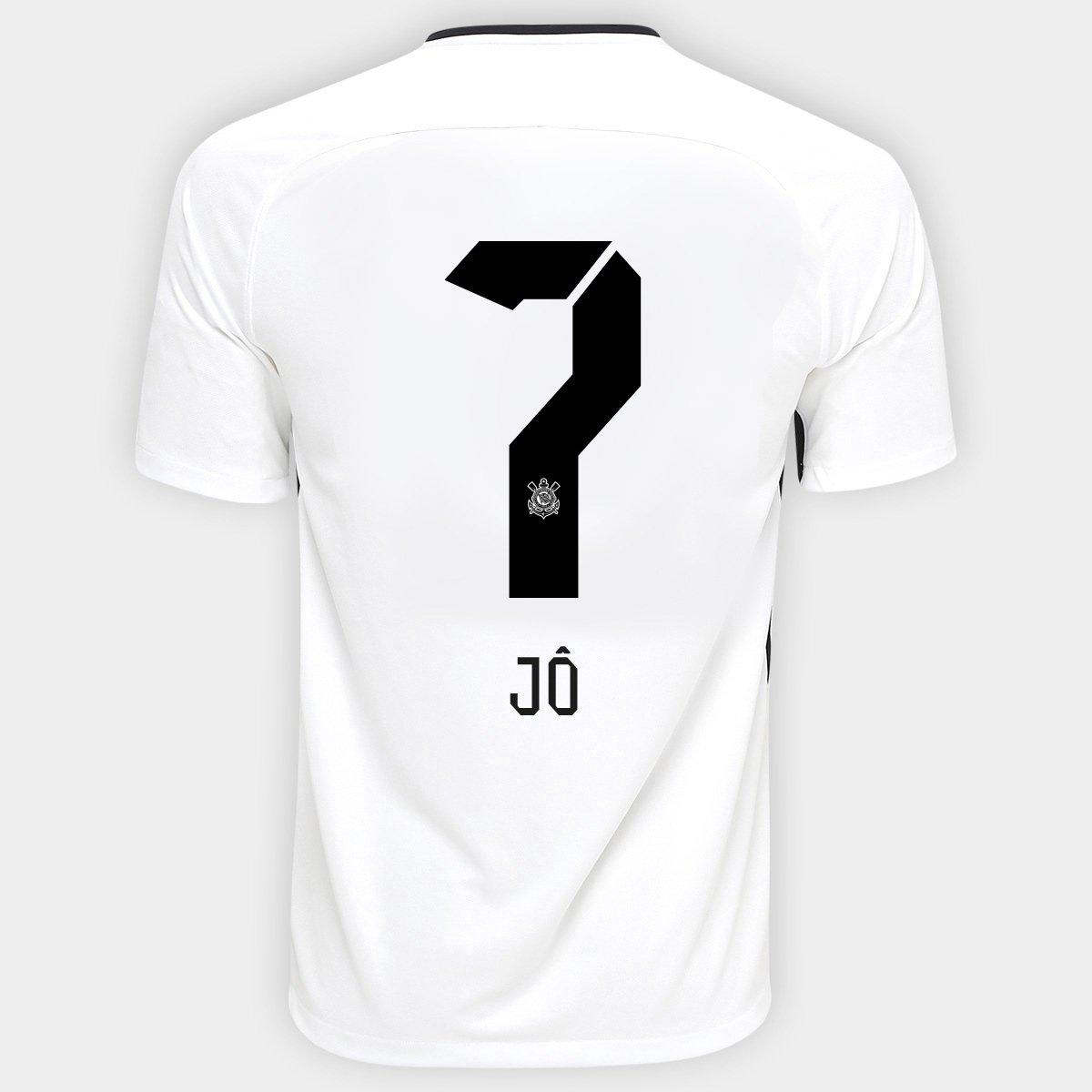 Camisa Nike Corinthians Ii 1718 Nº 7 Jô Compre Agora Netshoes be683fb926c0f