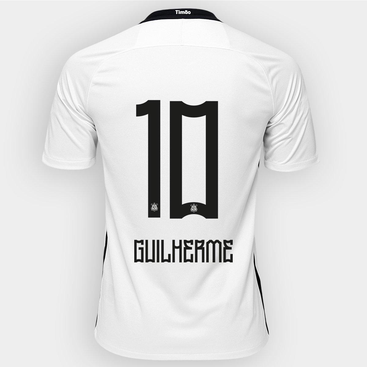 87a8c1b1a8 Camisa Nike Corinthians I 2016 nº 10 - Guilherme - Compre Agora ...