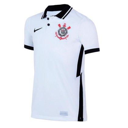 Camisa Nike Corinthians I 2020/21 Torcedor Pro Infantil