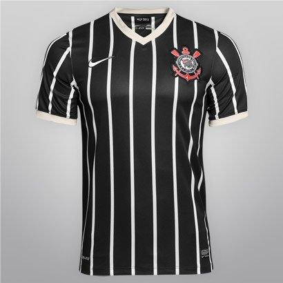 Camisa Nike Corinthians II 13 14 s nº - Compre Agora  f53e7b4fd3bba