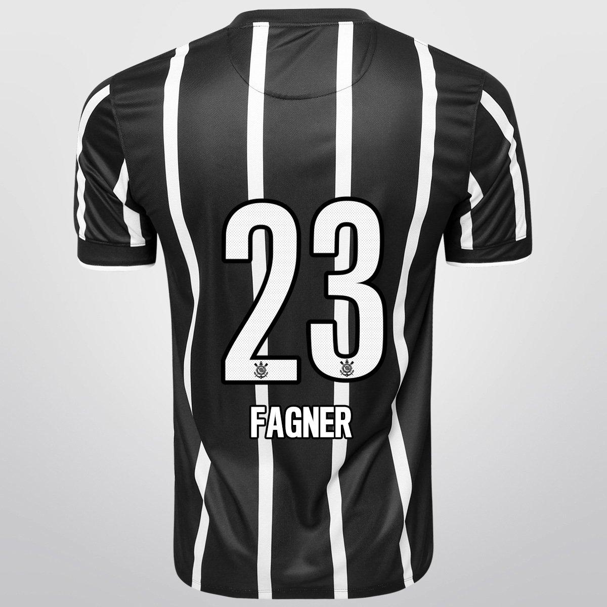 be6932ee2f4e8 Camisa Nike Corinthians II 14 15 nº 23 - Fagner - Compre Agora ...