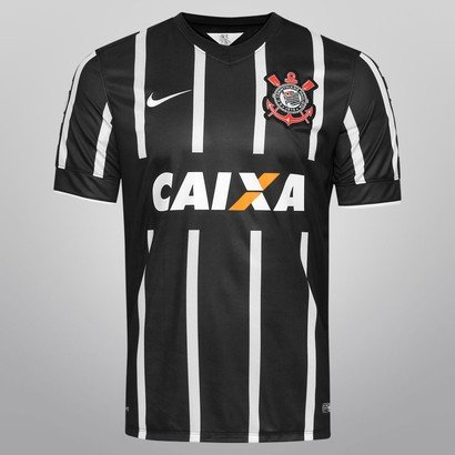 Camisa Nike Corinthians II 14 15 s nº - Torcedor - Compre Agora ... 2ec48bb6232b1
