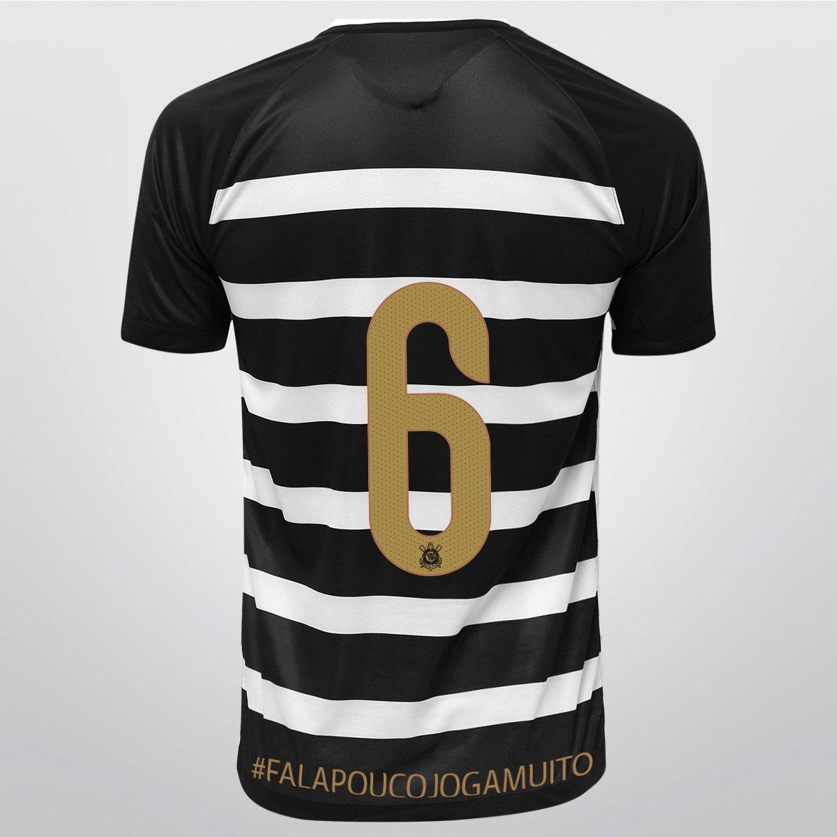 aa55869648668 Camisa Nike Corinthians II 15 16 nº 6 - falapoucojogamuito - Compre Agora