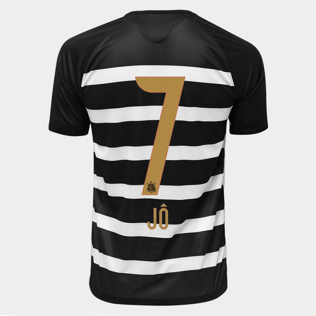 Camisa Nike Corinthians II 15 16 nº 7 - Jô - Compre Agora  52d919fa0faec