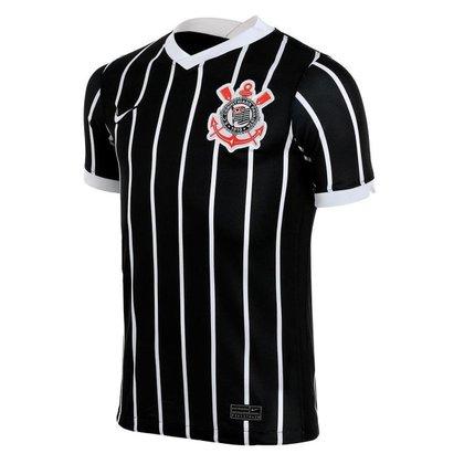 Camisa Nike Corinthians II 2020/21 Torcedor Pro Infantil