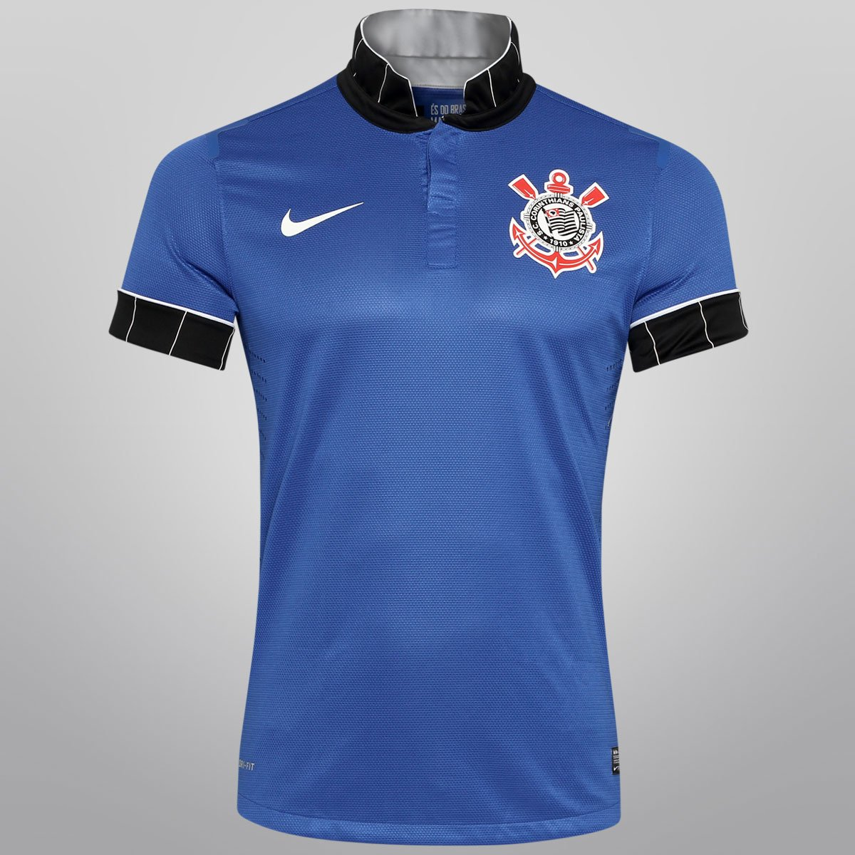 428ab8f9c8446 Camisa Nike Corinthians III 13 14 s nº - Jogador - Compre Agora ...