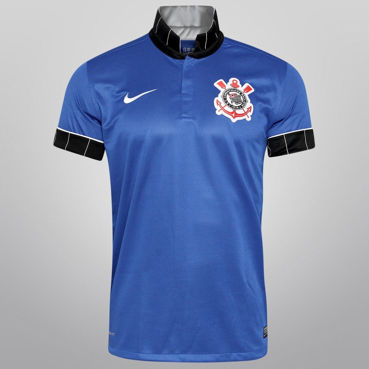 27de0a82231a0 Camisa Nike Corinthians III 13 14 s nº - Compre Agora