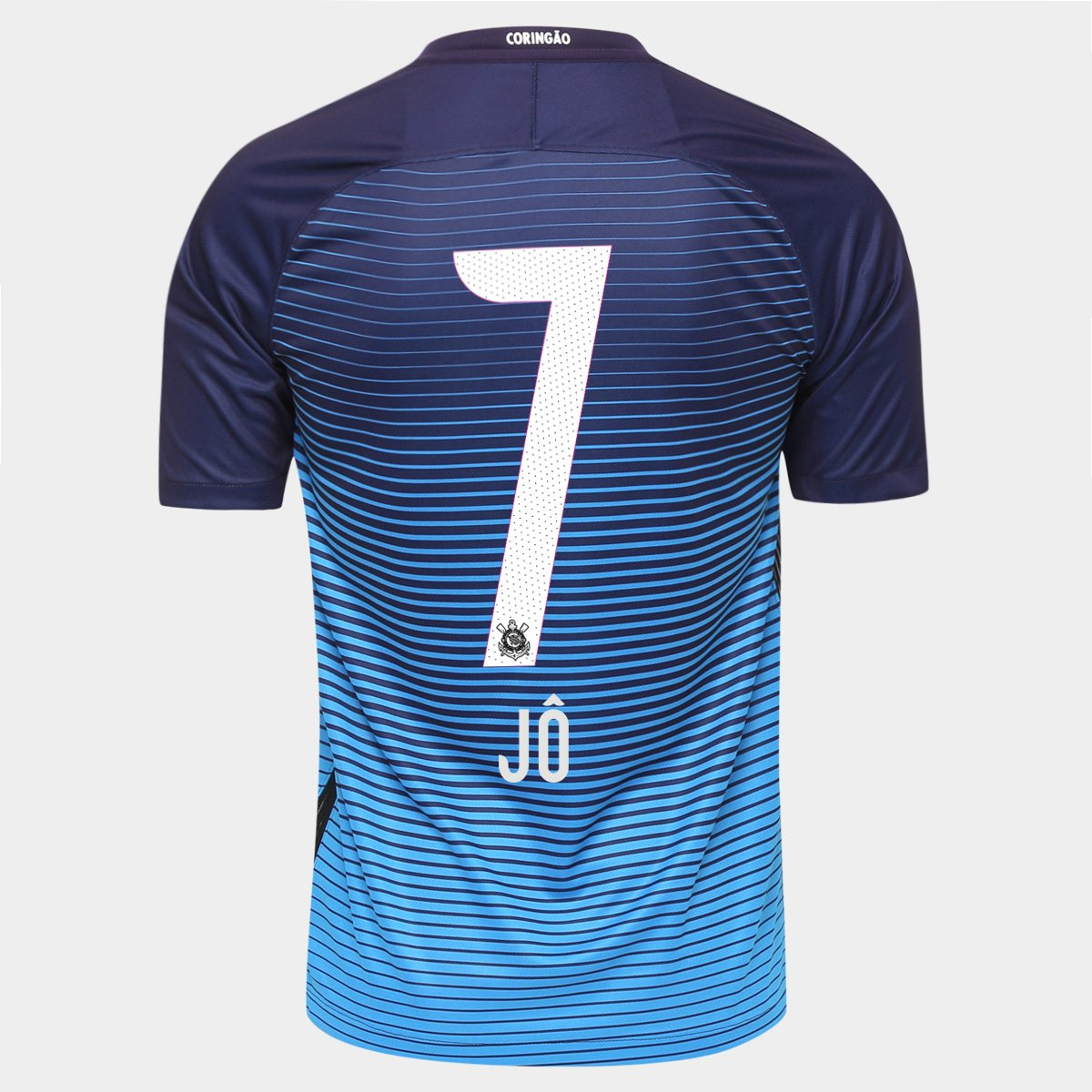 Camisa Nike Corinthians III 2016 nº 7 - Jô - Compre Agora  8d91ddf35458d