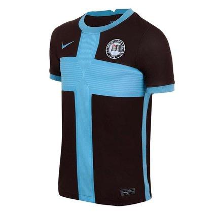 Camisa Nike Corinthians III 2020/21 Torcedor Pro Infantil