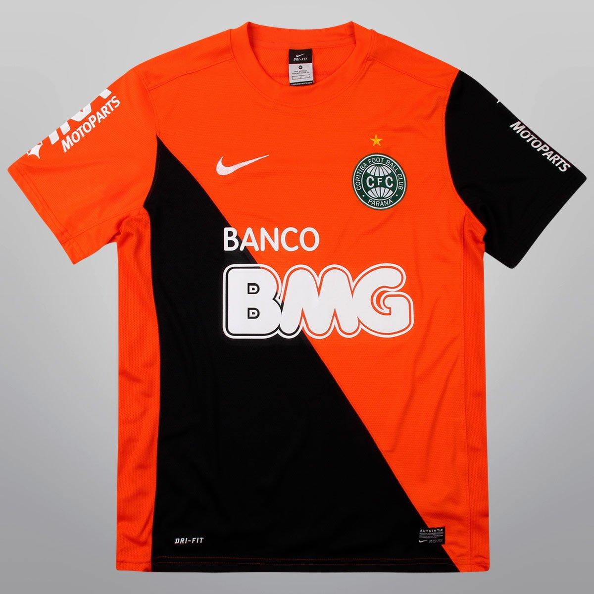 Camisa Nike Coritiba Goleiro 12 13 s nº M C - Compre Agora  803083f88e25b