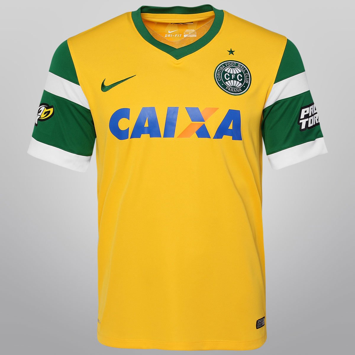 4e3168873f123 Camisa Nike Coritiba III 2014 s nº - Compre Agora