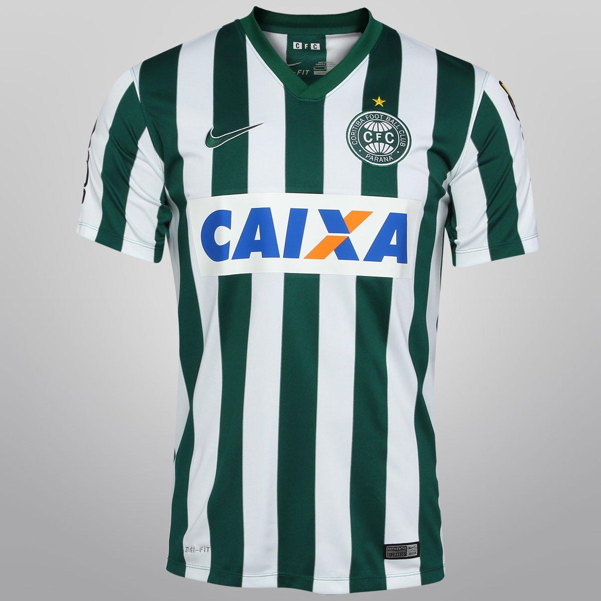 bdd704c727b02 Camisa Nike Coritiba Jogadeira 14 15 s nº c  Patrocínio - Compre Agora