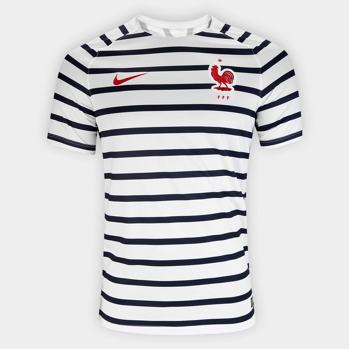beed6b269c692 Camisa Nike França Dry Squad SS Masculina - Compre Agora